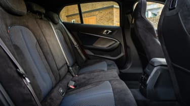 BMW M135i xDrive - interior rear seats