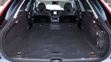 With all three rear seats folded down there's over 1,500 litres of storage space available in total