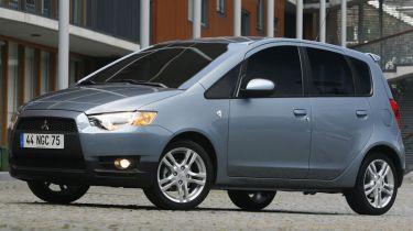 Mitsubishi Colt five-door 2009 front quarter