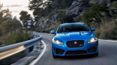 Jaguar XFR-S Sportbrake front