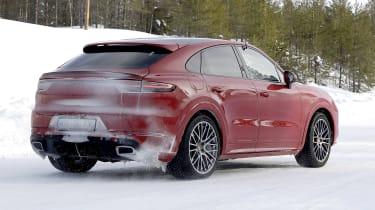 Porsche Cayenne Coupe GTS prototype - rear view