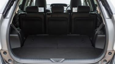 Toyota Prius+ MPV boot seats up