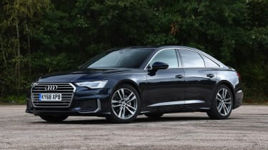 Audi A6 saloon front 3/4 static