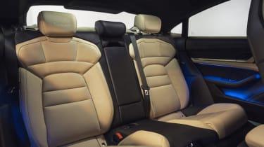 2020 Porsche Taycan - rear seats