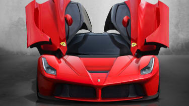 The Ferrari LaFerrari is a quintessentially modern supercar, and uses hybrid technology to produce 950bhp