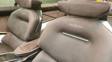 Lagonda All-Terrain SUV concept Geneva interior seats