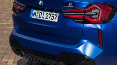 2021 BMW X3 M rear view