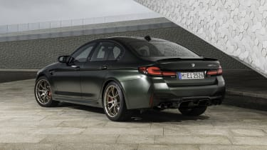 2021 BMW M5 CS - rear 3/4 static