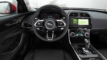 Jaguar XE saloon interior