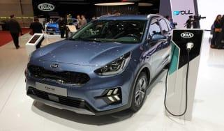 Kia Niro plug-in hybrid front quarter
