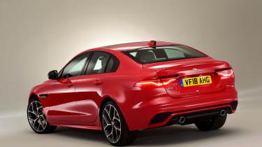 2019 Jaguar XE - rear
