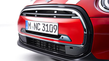 MINI Cooper front end detail