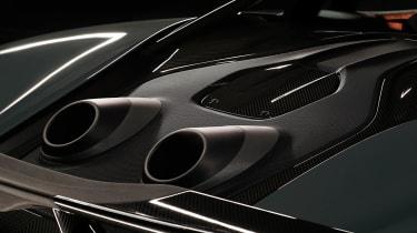 McLaren 600LT exhausts