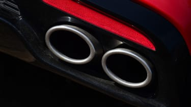 2021 Kia Stinger exhaust