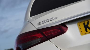 Mercedes E-Class hybrid rear lights