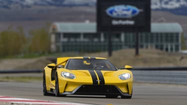 And there's no doubting where the Ford GT belongs...