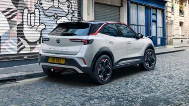 2021 Vauxhall Mokka SRi - rear 3/4 static