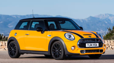 There's a faster Cooper S version with 189bhp
