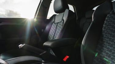 Audi A1 2019 interior seats