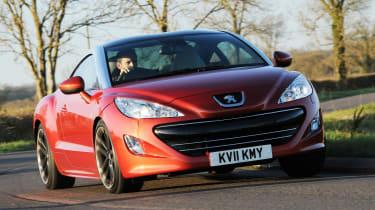 Peugeot RCZ driving
