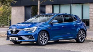 Renault Megane hatchback front 3/4 static