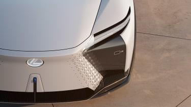 Lexus LF-Z concept - front close up