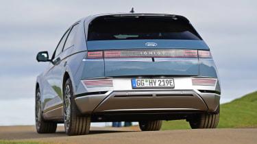 Hyundai Ioniq 5 drive - rear dynamic