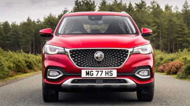 MG HS SUV front static