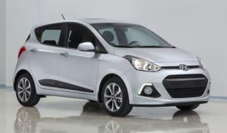 Hyundai i10 2013 front quarter static
