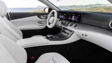 Mercedes E-Class Convertible interior - side view
