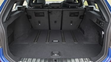 BMW 3 Series Touring boot - seats up