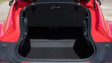 Toyota Supra coupe boot