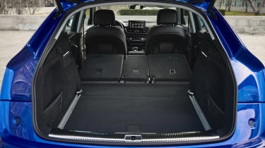 Audi Q5 Sportback SUV boot seats folded
