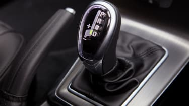 The eight-speed automatic gearbox is occasionally clunky, but relaxing in use