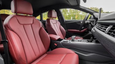 Ordering one of the brighter upholstery finishes can really brighten the interior