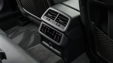 Audi A7 Sportback hatchback rear air vents