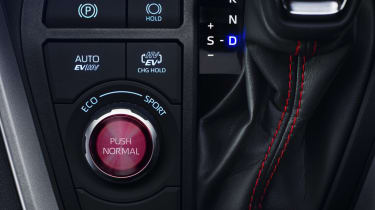 Toyota RAV4 Plug-in Hybrid drive selector