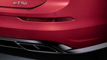 2020 Volkswagen Golf Estate R-Line rear end detail