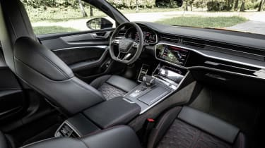 Audi RS7 interior - wide view
