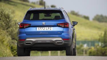 2021 SEAT Arona - rear dynamic