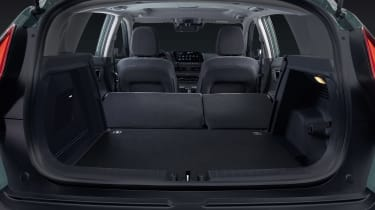 Hyundai Bayon boot - seats down