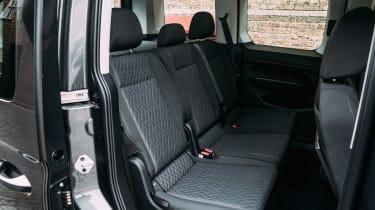 Volkswagen Caddy MPV rear seats