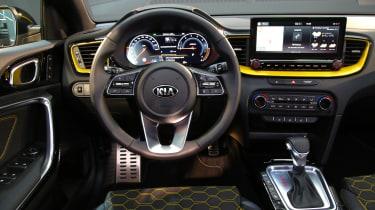 2019 Kia Xceed - 3/4 interior view