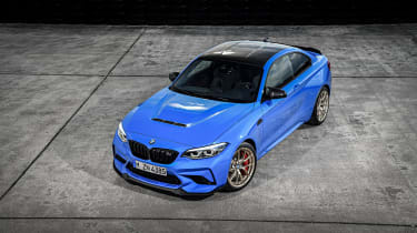 BMW M2 CS - top view