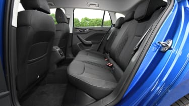 Skoda Scala hatchback rear seats