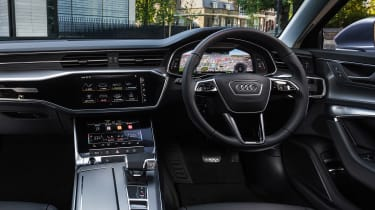 Audi A6 50 TFSI e saloon interior