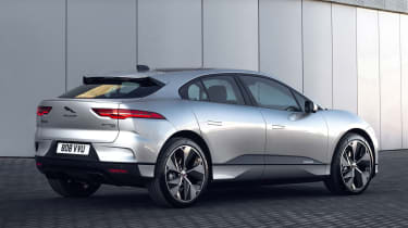 2020 Jaguar I-Pace - rear 3/4 static view