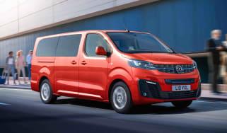 Vauxhall Vivaro-e Life driving