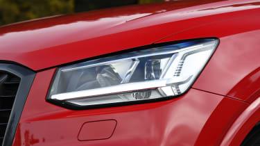 Audi SQ2 SUV headlight
