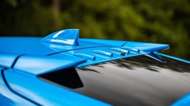 Honda Civic Type R roof spoiler